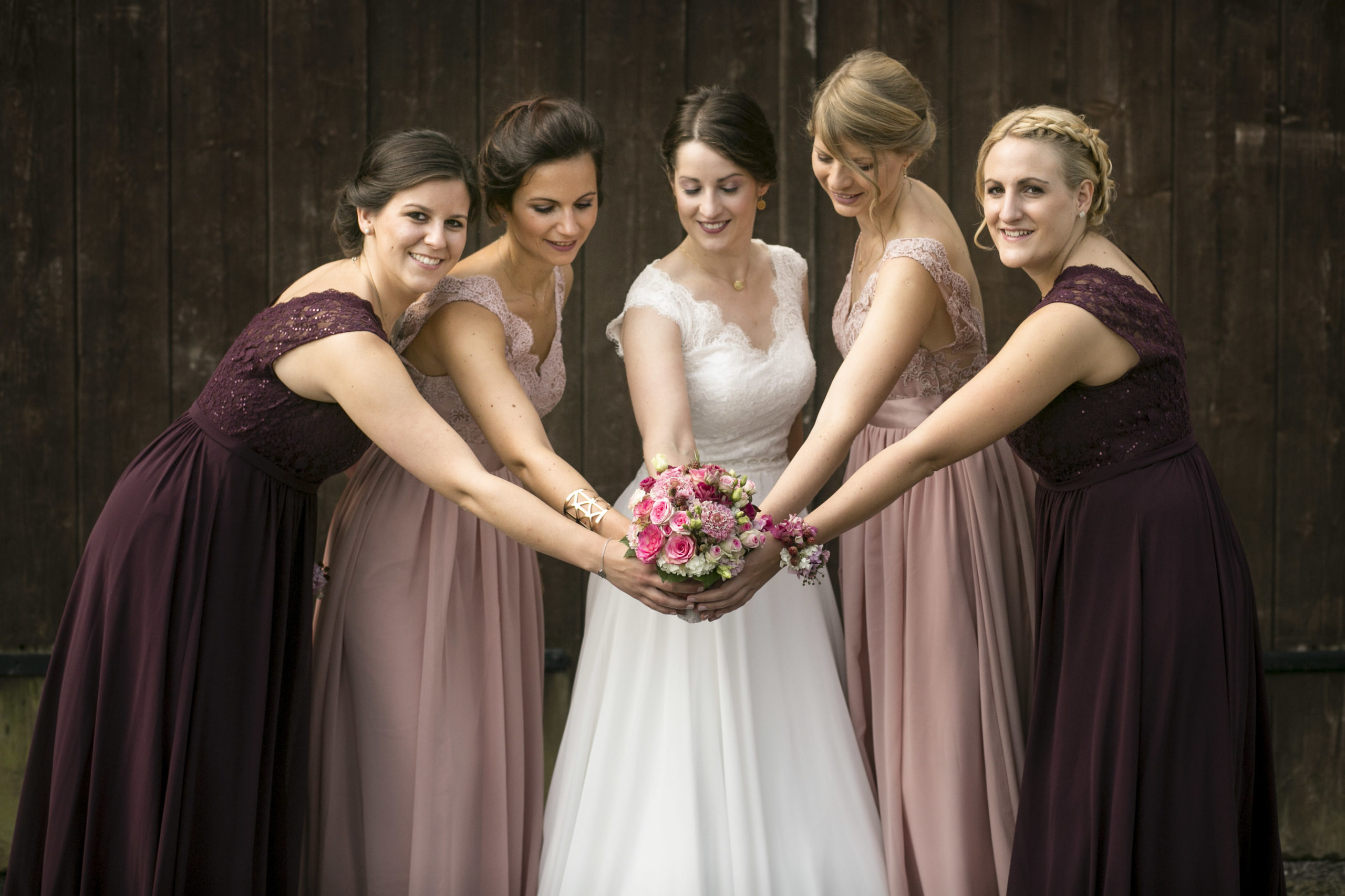 EH Fotografie Hochzeitsfotografie Brautjungfern
