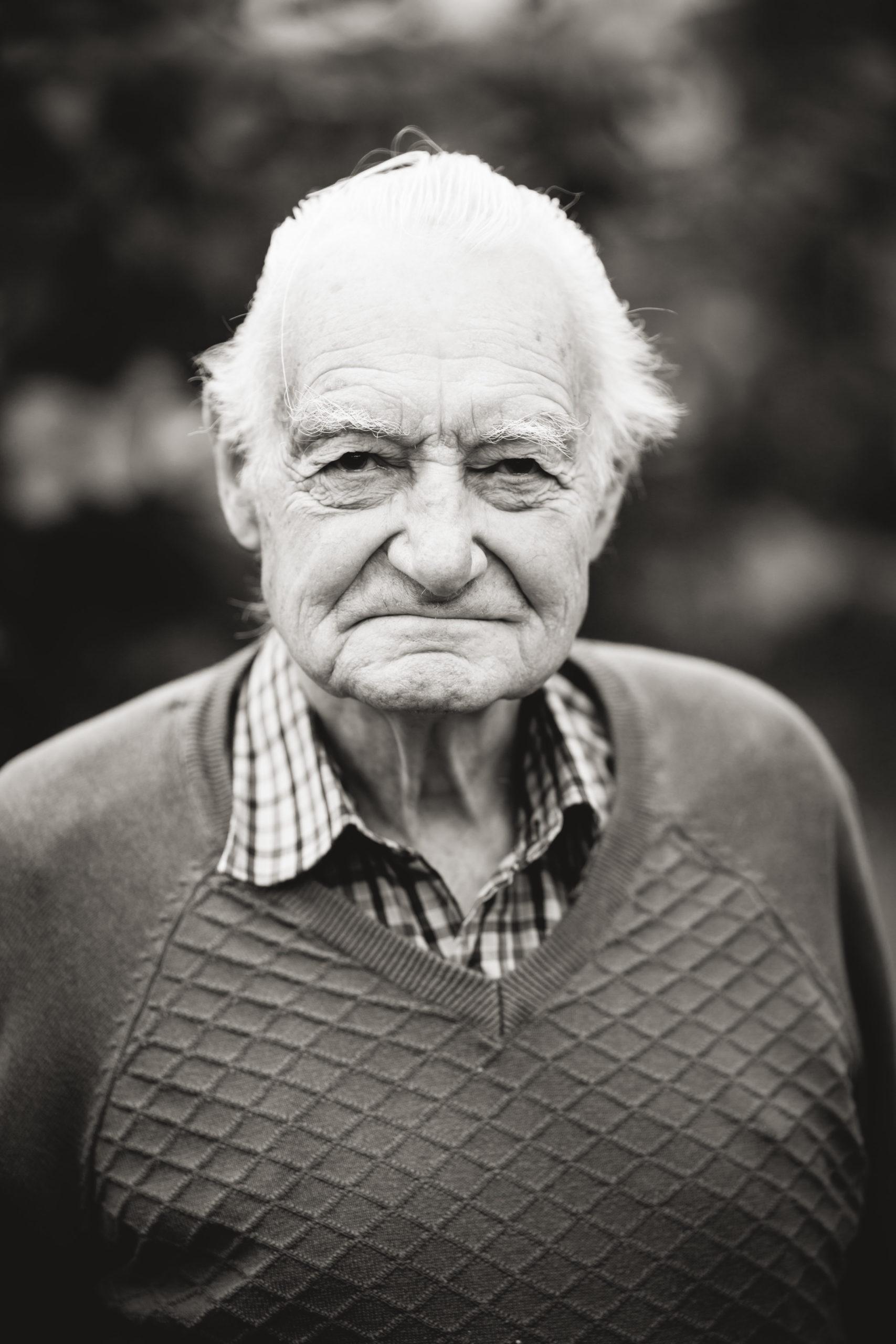 EH Fotografie Portrait Charakter Schwarzweiß